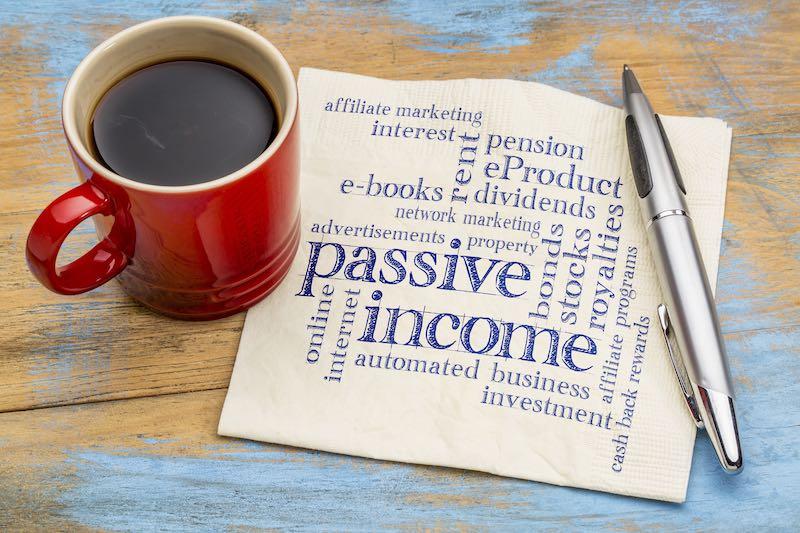 Passive income of affiliate marketer