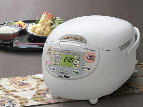 6 cups electric rice cooker